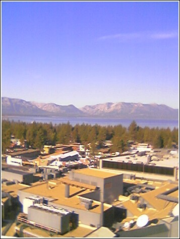 Lake Tahoe outside my window